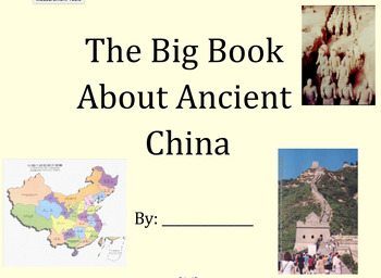 Ancient China Big Book GLAD