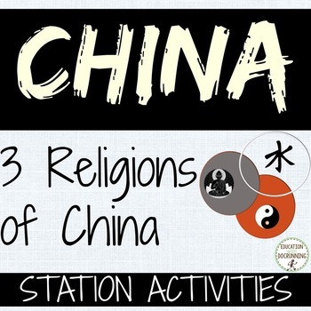 China Buddhism, Taoism and Confucianism Comparison Station