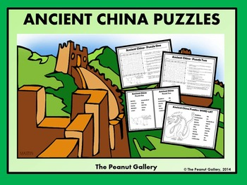 Ancient China Puzzles