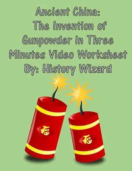 Ancient China:The Invention of Gunpowder in Three Minutes
