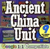 Ancient China Unit:  7 engaging activities! Geography, Dyn