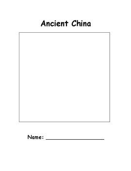 Ancient China Workbook