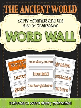 Ancient Civilizations: Early Man and Mesopotamia World Wal