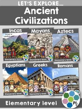 Ancient Civilizations Research Unit Bundle