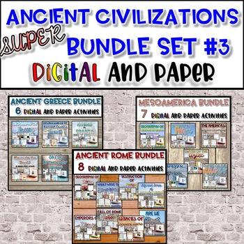 Ancient Civilizations SUPER Bundle #3