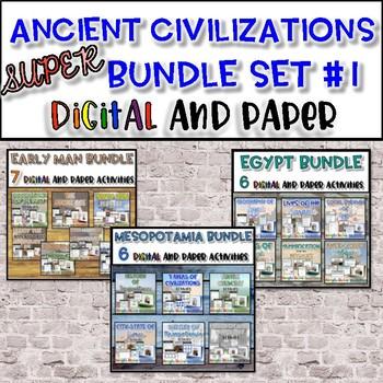 Ancient Civilizations SUPER Bundle {Set #1}