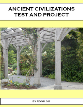 Ancient Civilizations Test and Project