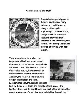 Ancient Comets and Myths