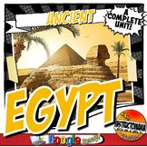 Ancient Egypt Unit Plan Common Core Activity & Note Bundle