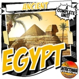 Ancient Egypt Unit Plan Common Core Activity & Note Bundle