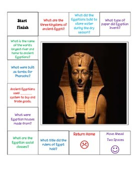 Ancient Egypt Game