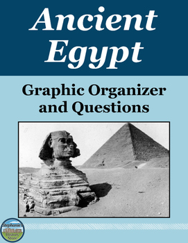 Ancient Egypt Graphic Organizer and Questions