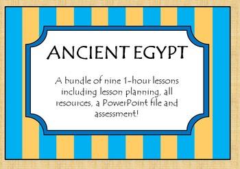 Ancient Egypt History Planning/Lesson Bundle
