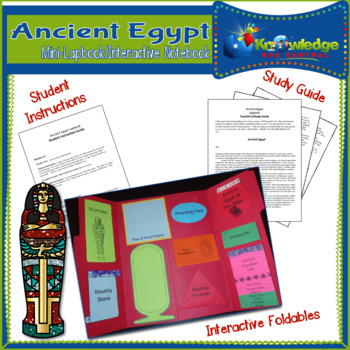 Ancient Egypt Mini-Lapbook