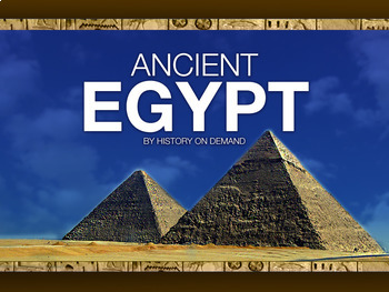 Ancient Egypt PowerPoint and Outline & Video Bundle