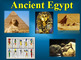 Ancient Egypt PowerPoint with Outline and Engineering an E