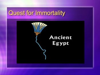Ancient Egypt PowerPoint for High School World or Ancient History