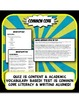 Ancient Egypt Quiz and Test Common Core Writing and Literacy