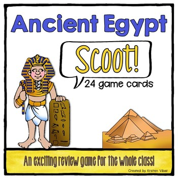 "Ancient Egypt ""SCOOT!"""