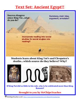 Ancient Egypt - Text Set