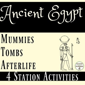 Ancient Egypt Tombs, Mummies, and the Afterlife 4 Station