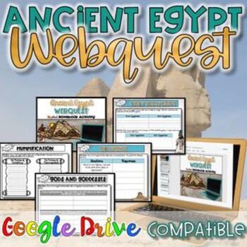 Egypt WebQuest Activity