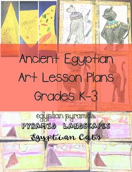 Ancient Egyptian Art Lesson Plans- Bundled