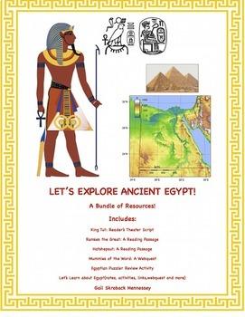 Ancient Egyptians: A Bundle of Resources!