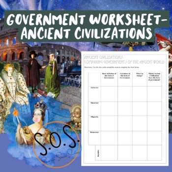 Ancient Governments Worksheet