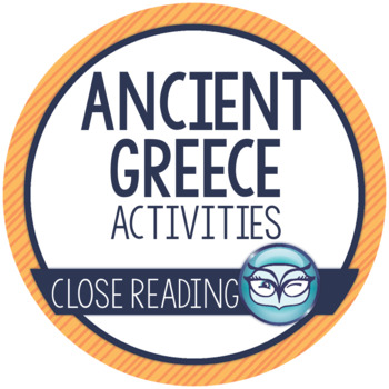 Ancient Greece Activity Pack - includes Mentor Texts for C