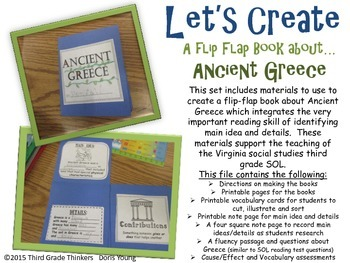 Ancient Greece Flip-Flap Book