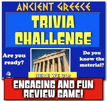 Ancient Greece Review! Students Play Jeopardy-like Game to