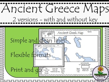 Ancient Greece Maps