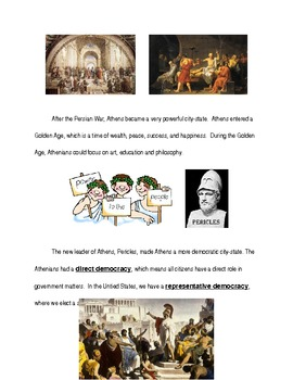 Ancient Greece Modified Unit Section 4 Glory, War, and Decline