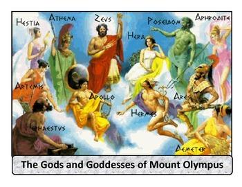 Ancient Greece - Mythology poster
