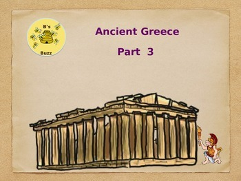 Ancient Greece Part 3 Powerpoint