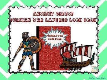 Ancient Greece - Persian War - Interactive Notebook Activity