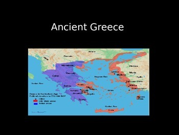 Ancient Greece Power Point Presentation