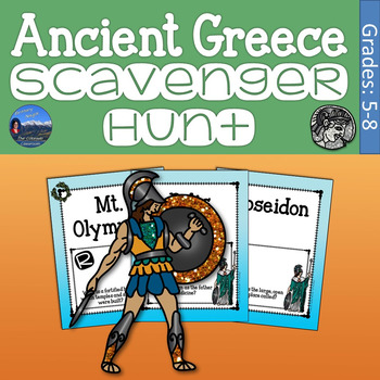 Ancient Greece Scavenger Hunt