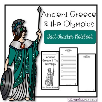 Ancient Greece and the Olympics Fact Tracker Notebook (MTH
