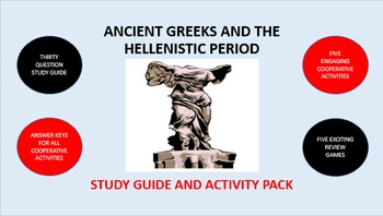 Ancient Greeks and the Hellenistic Period: Study Guide and