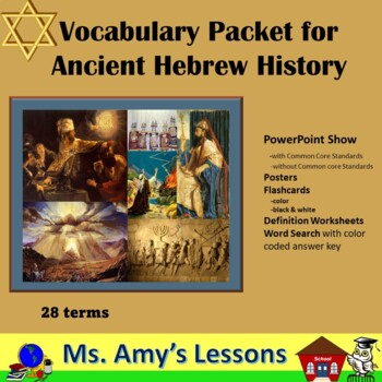 Ancient Hebrew Vocabulary and Terms PowerPoint Presentation
