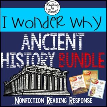 Ancient History Citing Evidence Reading Response I Wonder