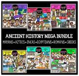 Ancient History Clip Art Mega Bundle