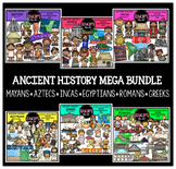 Ancient History Clip Art Mega Bundle