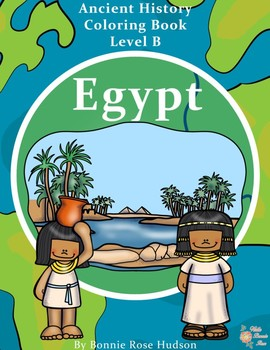 Ancient History Coloring Book: Egypt
