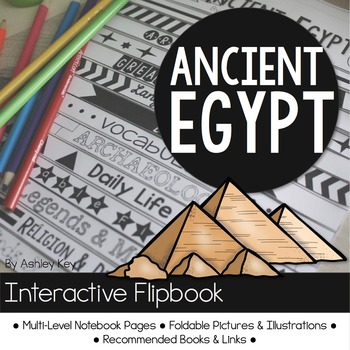 Ancient Egypt Research Unit with Interactive Flipbook