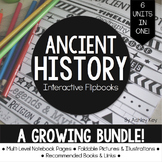 A Growing Bundle of Ancient History Interactive Flipbooks