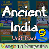 Ancient India Unit: 8 hands-on, engaging activities to tea