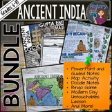 Ancient India Bundle{PowerPoint,Guided Notes,Memory Game,F